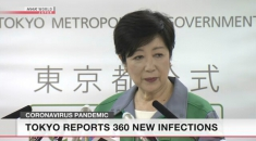 Tokyo governor urges citizens not to travel