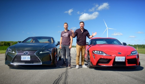 Lexus LC500 And Toyota Supra Are Very Different Yet Quite Well Matched
