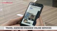 Japan's travel agencies enhance online services