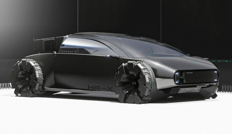 This Honda 'HR-X Delsol' Concept Is Billed As An Electric Pick-Up Coupe