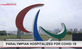 1st Tokyo Games athlete hospitalized with COVID-19