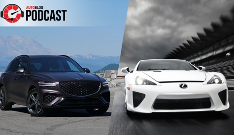 2022 Genesis GV70, raging at VW ID.4 tech and thoughts on a new Lexus LFA   Autoblog Podcast #696